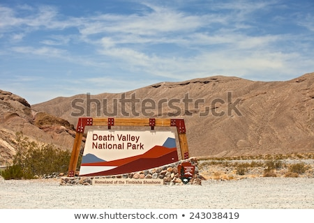 park · imzalamak · ölüm · vadi · manzara - stok fotoğraf © phbcz
