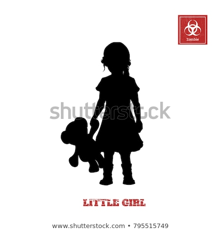 pretty girls silhouettes stock photo © coolgraphic