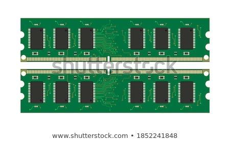 メモリ 現代 のCPU  多くの 異なる コンピュータ ストックフォト © gewoldi
