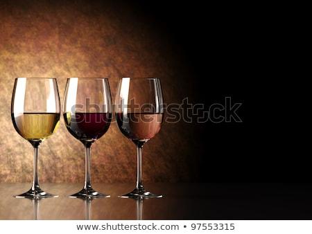 ワイングラス · ワイン · 眼鏡 · ドリンク · アルコール · ピンク - ストックフォト © phbcz