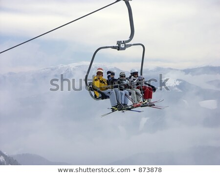 A chair-lift in Tatra Mountains Stock photo © photocreo