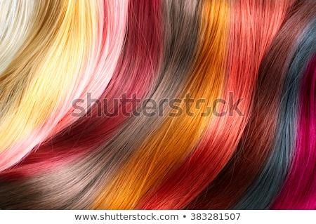 волос мнение девушки женщины моде Сток-фото © rbouwman