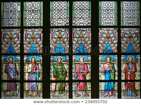 Basilica Stained Glass Stock photo © ribeiroantonio