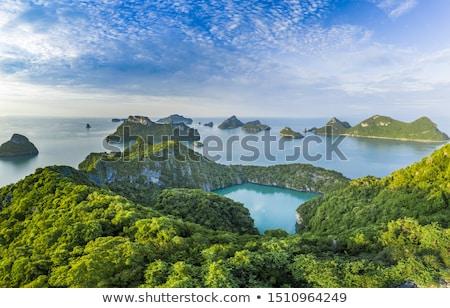 島 · 海 · タイ · 海洋 · 公園 - ストックフォト © chatchai