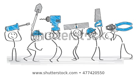 A team of tradespeople Stock photo © photography33