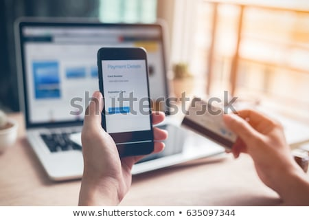 Banking online Pay by internet Stock photo © fenton