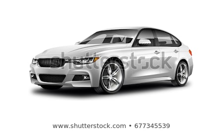 vijf · wielen · witte · hoog · kwaliteit · 3d · render - stockfoto © nobilior