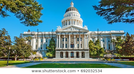 здании Калифорния небе служба закрывается Сток-фото © AndreyKr