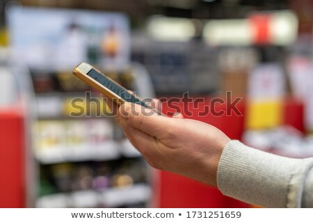 qrcode smart phone contacts stock photo © cgsniper