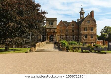 Old Abbey stonework Stock photo © david010167
