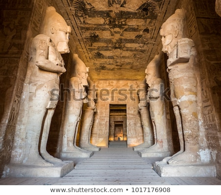The Great Temple of Abu Simbel, Egypt Stock photo © TanArt