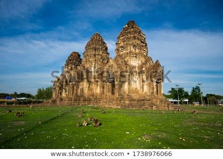 Prang Sam Yot temple Stock photo © joyr