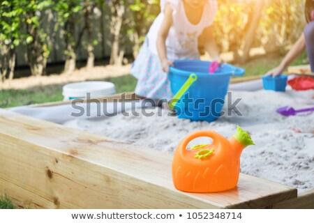 Playtime on the Sand Stock photo © ozgur