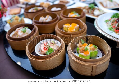 Dimsum chinese food Stock photo © Roka