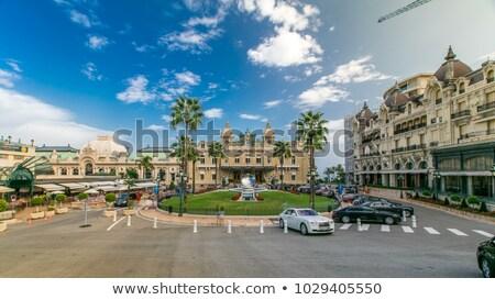 fontein · casino · Monaco · licht · reizen · nacht - stockfoto © andreypopov