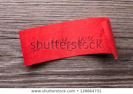 odaadás · cím · darab · papír · régi · papír · terv - stock fotó © stevanovicigor