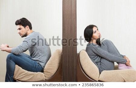 gender, relationship or marriage problems Stock photo © PixelsAway