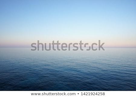 Middellandse zee zee Blauw zeegezicht horizon lijn Stockfoto © tuulijumala