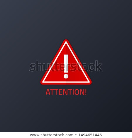 Internet Attack on Red Road Sign. Stock photo © tashatuvango