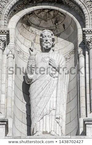 Foto stock: Jesús · Cristo · escultura · París · Francia