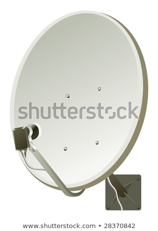 home satellite dish global communication vector illustration stock photo © mr_vector