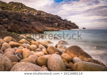 Cornwall strand einde landschap zee Stockfoto © chris2766
