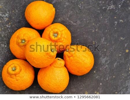 Maturo sumo arance foglie dolce arancione Foto d'archivio © MSPhotographic