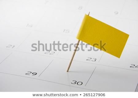 Mes papel calendario página espiral Foto stock © stevanovicigor