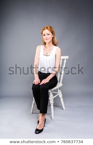 Office Chairs in Black and Red, Stand out Concept Stock photo © Akhilesh