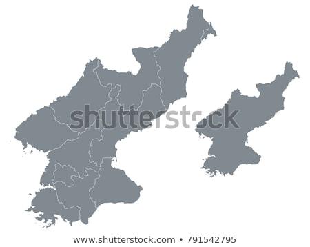 Harita kuzey bayrak simge beyaz savaş Stok fotoğraf © mayboro1964