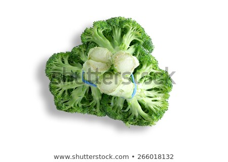 Bunch of fresh broccoli viewed from below Stock photo © ozgur