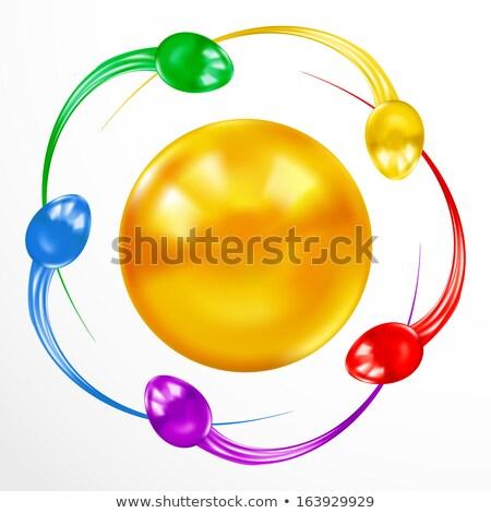 Spermatozoid icon on white background. Stock photo © tkacchuk