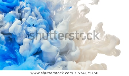Nube inchiostro acqua eps 10 abstract Foto d'archivio © HelenStock