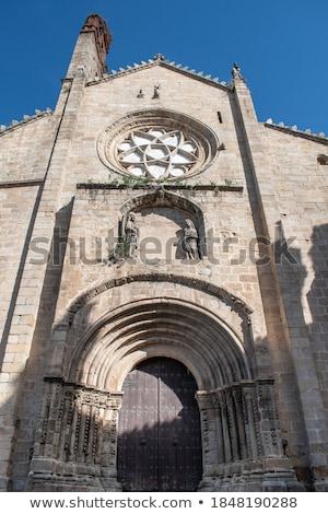 Catedral de Santa Maria of Plasencia. Spain Stock photo © Photooiasson