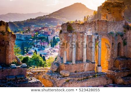 Wygaśnięcia sycylia Włochy miasta Zdjęcia stock © CaptureLight