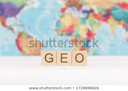 Geo Targeting. Online Working Concept. Stock photo © tashatuvango