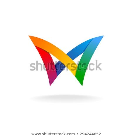 kanatlar · logo · kanat · vektör · grafik · keskin - stok fotoğraf © blaskorizov