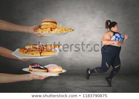 fat lifestyle escape stock photo © lightsource