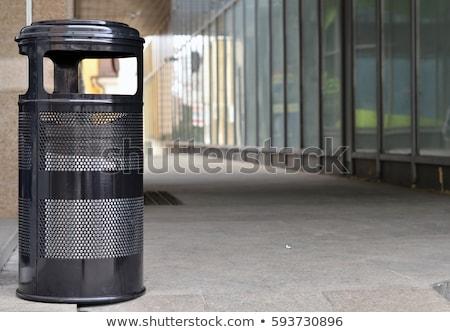 ごみ · 袋 · ビッグ · 黒 · 市 - ストックフォト © ozaiachin