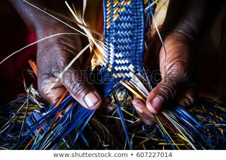 Rwanda pays pavillon carte forme texte Photo stock © tony4urban