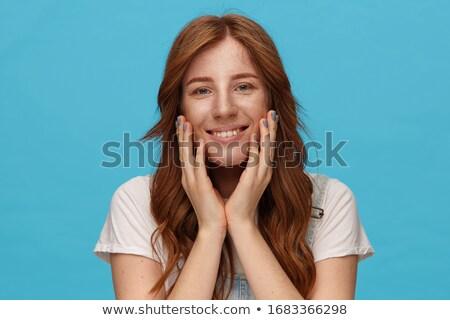 Groene mooie lang vrouwelijke lingerie Stockfoto © disorderly
