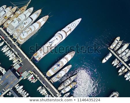 Yacht marina Athènes Grèce mer Voyage Photo stock © Lana_M