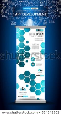 アプリ 開発 いたずら書き デザイン スタイル ユーザー ストックフォト © DavidArts
