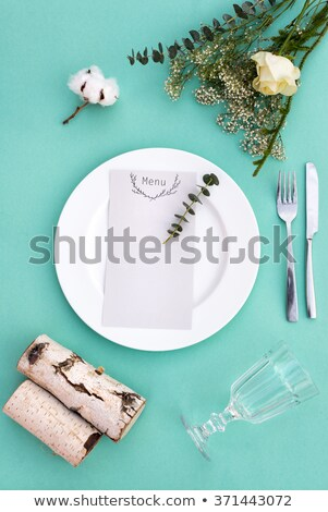 Celebratory Table Setting Stock photo © zhekos