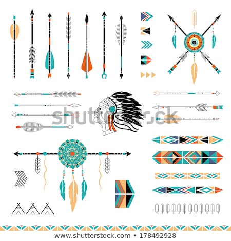 Native american indians greeting Stock photo © bluering