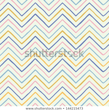 Vector Seamless Multicolor Hand Drawn Lines Pattern stock photo © CreatorsClub