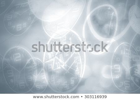 brown background with the clock Stock photo © blackmoon979