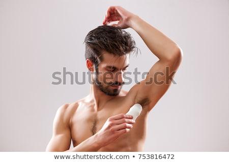 Jonge man deodorant jonge Stockfoto © nito