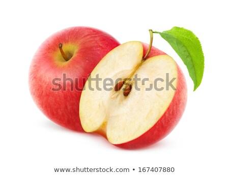 2 全体 リンゴ 1 四半期 リンゴ ストックフォト © Digifoodstock
