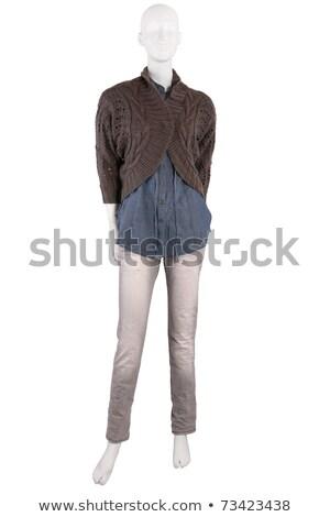 манекен · рубашку · куртка · брюки · женщины - Сток-фото © gsermek